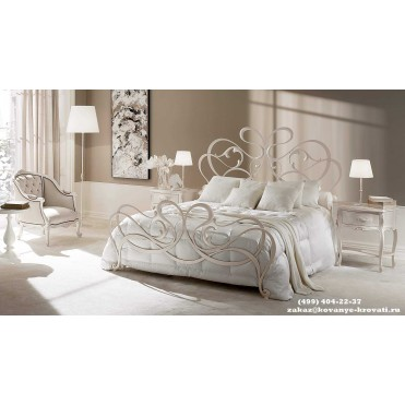 Кованая кровать Арко
