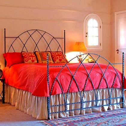 Кованая кровать Финлорд