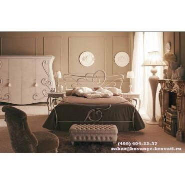 Кованая кровать Мираина