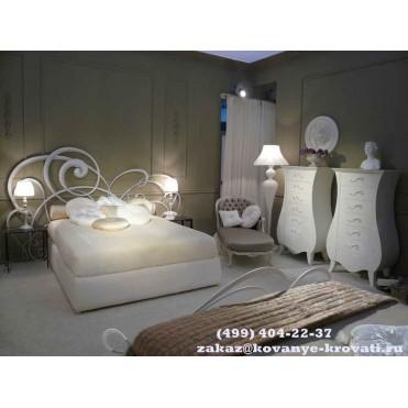 Кованая кровать Ривальдо