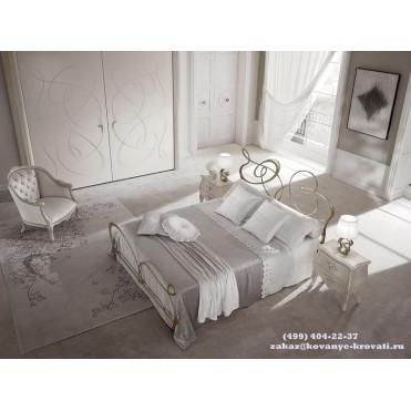 Кованая кровать Теасоль