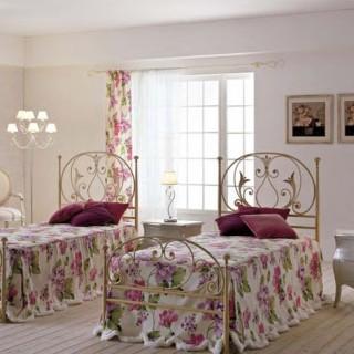 Кованая кровать Илэльм
