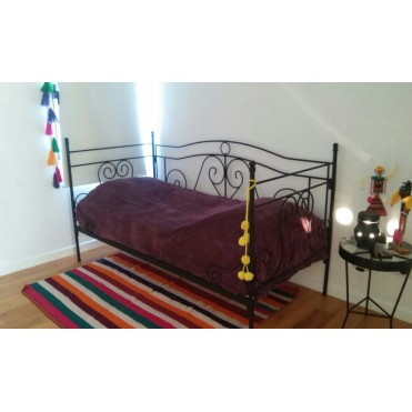 Кованая кровать Шаум