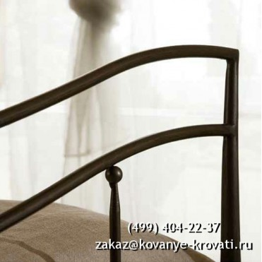 Кованый диван Гардхильд