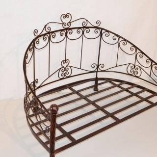 Кованая кровать Овлорд