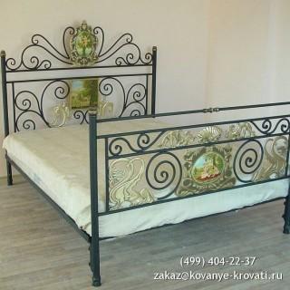 Кованая кровать Брендфред