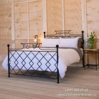 Кованая кровать Эриус
