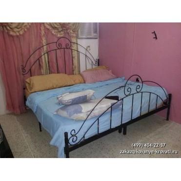 Кованая кровать Гейрар