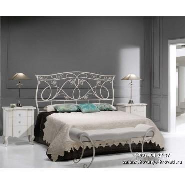 Кованая кровать Хильдюв