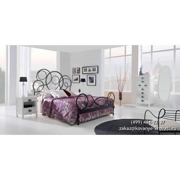 Кованая кровать Иноисан