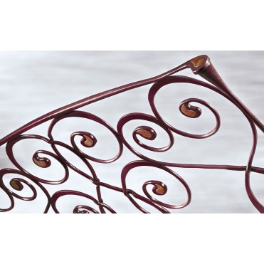 Кованая кровать Изанмира