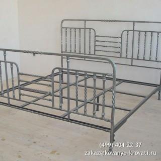 Кованая кровать Изанури