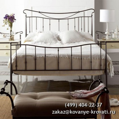 Кованая кровать Нуле