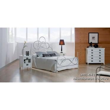 Кованая кровать Огрих