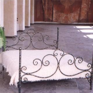 Кованая кровать Оргрид
