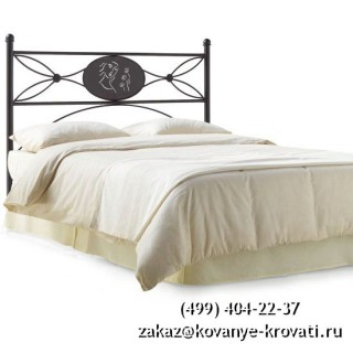 Кованая кровать Роур