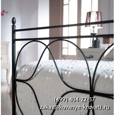 Кованая кровать Сигна