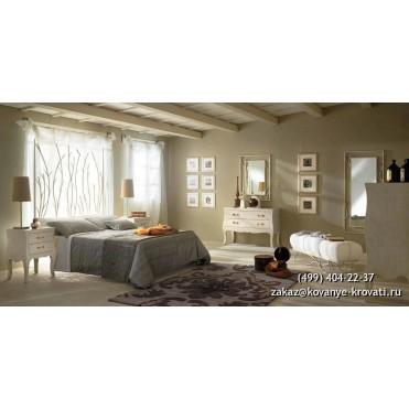 Кованая кровать Тенил