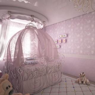 Кованая кровать Грифда