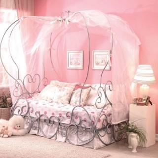 Кованая кровать Линдри