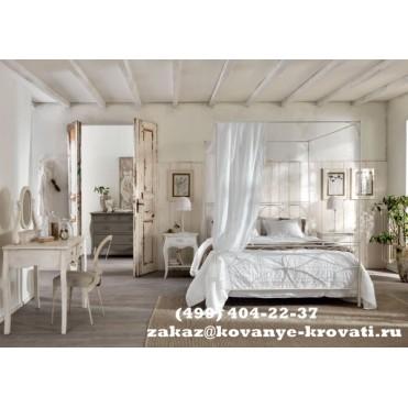 Кованая кровать Изери