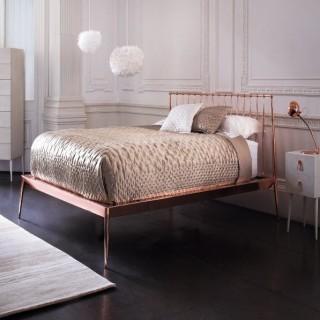 Кованая кровать Невальд