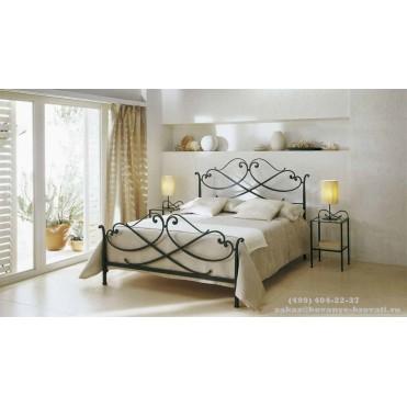 Кованая кровать Оринна