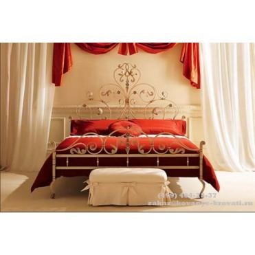 Кованая кровать Вандели