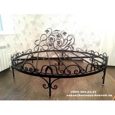 Кованая кровать Мероли