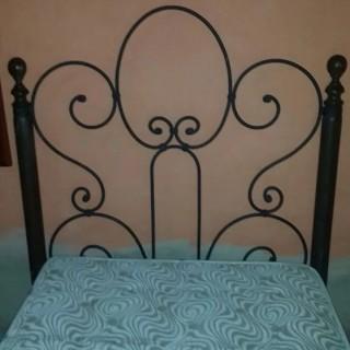 Кованая кровать Альбoвуд