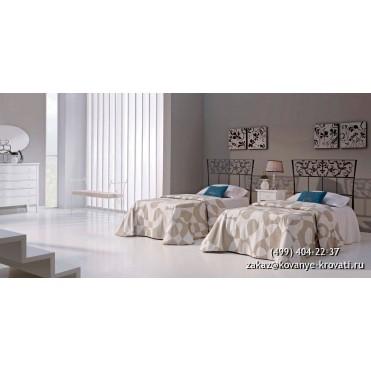 Кованая кровать Алброн