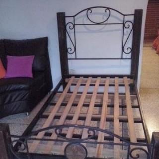Кованая кровать Брендберт