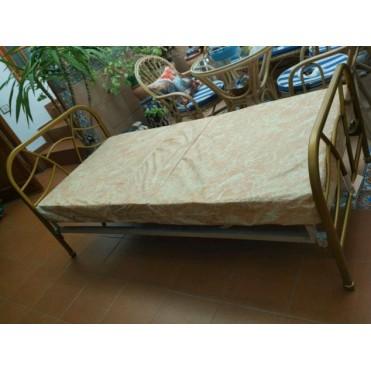 Кованая кровать Скавит