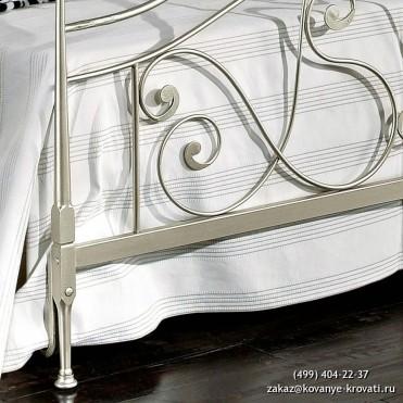 Кованая кровать Мироольфа