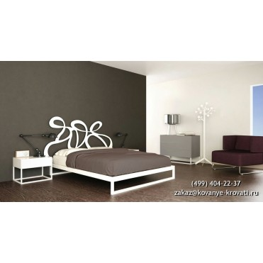 Кованая кровать Адельтрауд