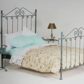 Кованая кровать Бруникро