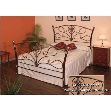 Кованая кровать Рохвин