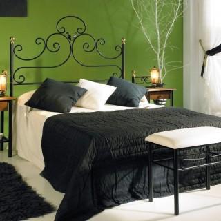 Кованая кровать Шуэтель