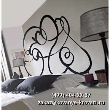 Кованая кровать Сольре