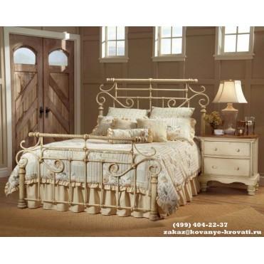 Кованая кровать Виктория