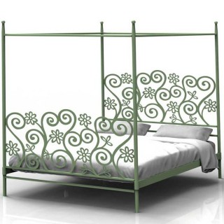 Кованая кровать Боргдор