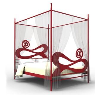 Кованая кровать Бринкур