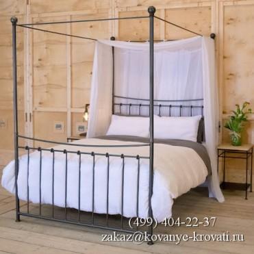 Кованая кровать Етлерд
