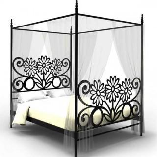 Кованая кровать Хильдеуг