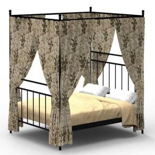 Кованая кровать Ильвуд