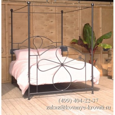 Кованая кровать Келерд