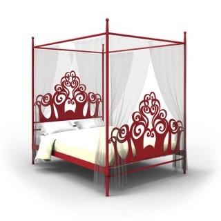 Кованая кровать Миралард