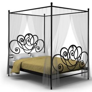 Кованая кровать Рохлард