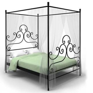Кованая кровать Титстан