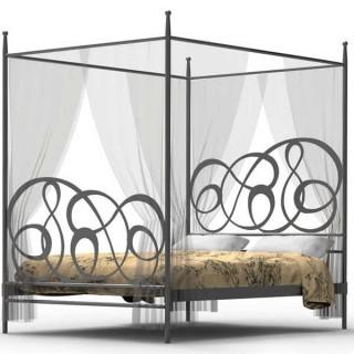 Кованая кровать Триуа